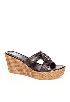 Yellow Box Danica Wedge Slide
