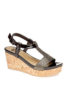 Yellow Box Jordan Wedge Sandal