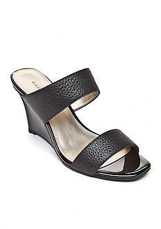 Bandolino Jadzia Double Band Wedge Sandal