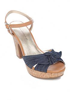 Bandolino Maromisa Knot Platform Sandal