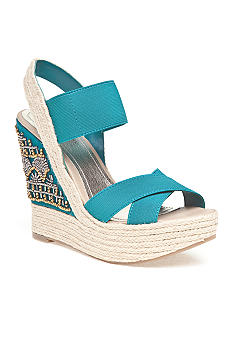 Kenneth Cole Reaction Live Fast Wedge Sandal