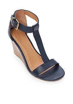 Kenneth Cole Reaction Ava Gave T-Strap Wedge Sandal