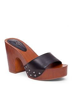 Jessica Simpson Karema Faux Wood Slide Shoe