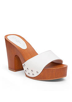 Jessica Simpson Karema Faux Wood Slide Shoe