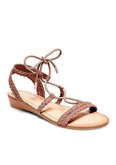 Madden Girl Torren Braided Lace Up Sandal