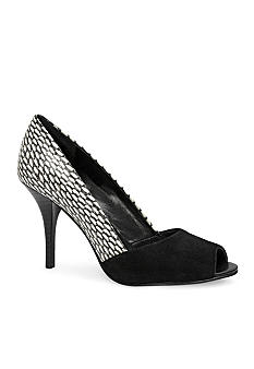 Tahari Lyra Open Toe Pump