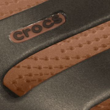 Flat Sandals for Women: Espresso/ Bronze Crocs Cleo II Sandal