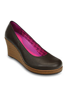 Crocs A-leigh Closed Toe Wedge