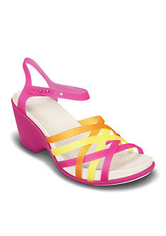 Crocs Huarache Wedge Sandal