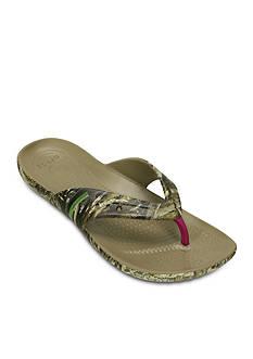 Crocs Kadee Realtree Max-5 Flip Flop Sandal