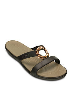 Crocs Sanrah Studded Circle Sandal