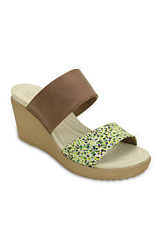 Crocs Leigh II Double Strap Slide