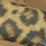 Womens Crocs: Gold Crocs Kadee II Leopard Print Flip Flop