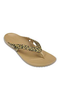 Crocs Kadee II Leopard Print Flip Flop