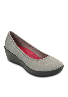 Crocs Busyday Heathered Ballet Wedge