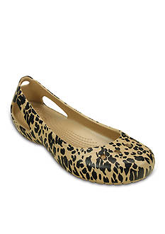 Crocs Kadee Animal Print Flat