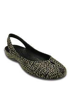 Crocs Olivia II Leopard Print Flat