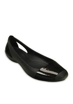 Crocs Sienna Shiny Flat