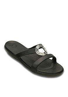 Crocs Sanrah Beveled Circle Sandal