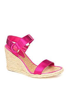 Indigo Wedge Sandal