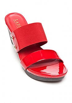 Lauren Ralph Lauren Rhianna Wedge Slide