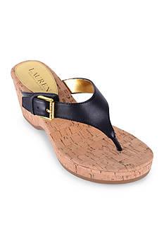 Lauren Ralph Lauren Oralee Wedge Sandal