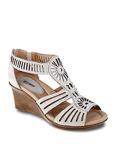 Earth Caraway Strappy Wedge