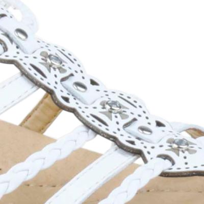 Flat Sandals for Women: White Earth Bluff Sandal