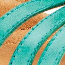 Earth Online: Teal Earth Seaside Sandal