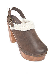 Five Worlds by Cordani Toledo Faux Fur Trim Clog