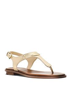 MICHAEL Michael Kors MK Plate Thong Sandal