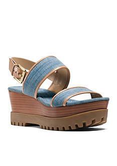 MICHAEL Michael Kors Gillian Wedge Sandal