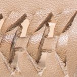 Womens Designer Flats and Loafers: Dark Khaki MICHAEL Michael Kors Fulton Moc Woven Flats