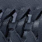 Womens Designer Flats and Loafers: Navy MICHAEL Michael Kors Fulton Moc Woven Flats