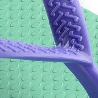 Womens Flip-flops: Light Green Havaianas Slim Logo Pop-Up Flip Flop