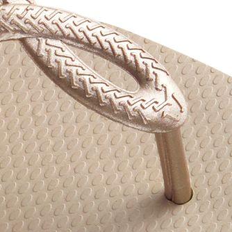 Flat Sandals for Women: Sand Grey Havaianas Luna Sandal