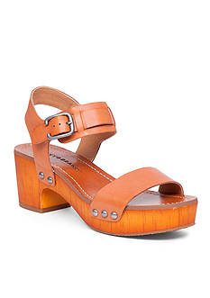 Lucky Brand Hannela Chunky Faux Wood Sandals