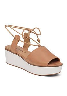 Lucky Brand Jaxson Lace Up Platform Sandal