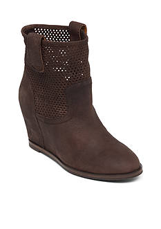 Lucky Brand Keno Wedge Bootie