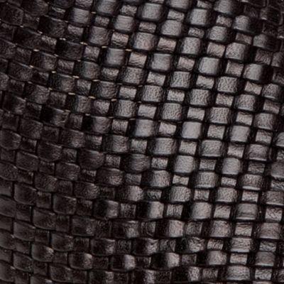 Amalfi By Rangoni Women's: Black Weave Amalfi by Rangoni Ramona Mule