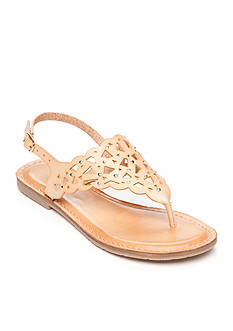 Rock and Candy by ZiGi Breeana Laser Cut Sandal