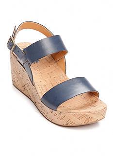 Korks Tome Cork Wedge Sandal