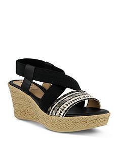 Spring Step Beach Wedge Sandals