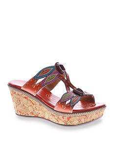 Spring Step Queenston Wedge Sandal