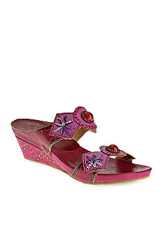 Spring Step Sesame Wedge Sandal