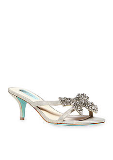 Betsey Johnson Blush Slide Sandal