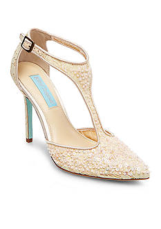 Betsey Johnson Eliza T-Strap Pumps