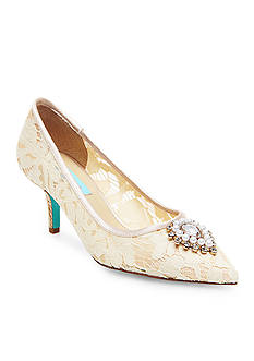 Betsey Johnson Karin Lace Pumps