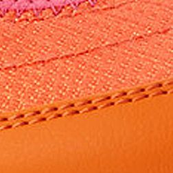 Tennis Shoes for Women: Orange Vionic with Orthaheel Technology Sunset Sporty Mary Jane