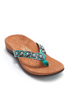 Vionic with Orthaheel Technology Floriana Flip Flop Sandal